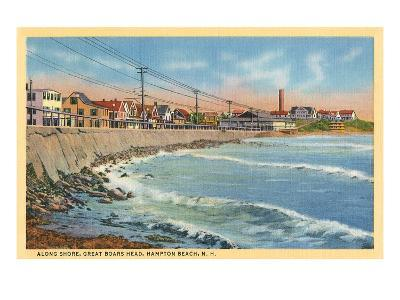 Great Boar's Head, Hampton Beach, New Hampshire--Art Print