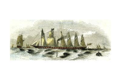 Great Britain Steamship 1847--Giclee Print