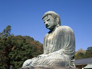 Great Buddha (Daibutsu), Kamakura, Honshu, Japan