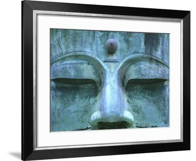 Great Buddha Detail, Kotokuji Temple, Kamakura, Japan-Rob Tilley-Framed Photographic Print