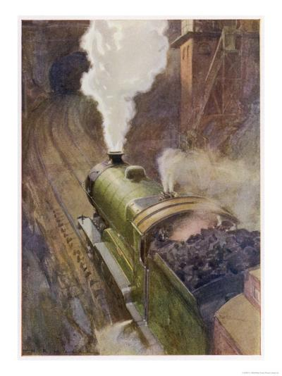 Great Central Express-H.r. Millar-Giclee Print