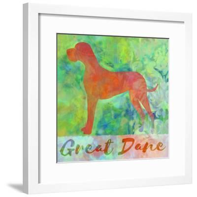 Great Dane Dog-Cora Niele-Framed Giclee Print