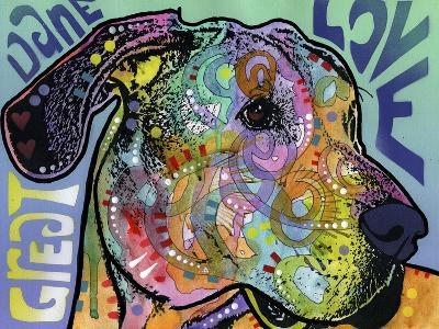 Great Dane Luv-Dean Russo-Giclee Print