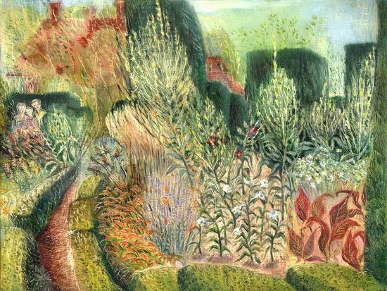 Great Dixter: Topiary and Paths-Mary Kuper-Giclee Print