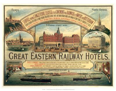 Great Eastern Railway Hotels--Art Print