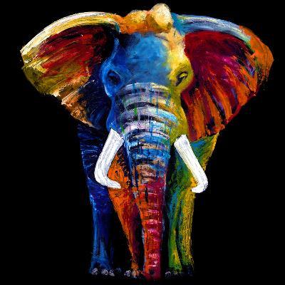 Great Elephant-Clara Summer-Art Print
