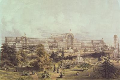 Great Exhibition, 1851: Crystal Palace--Giclee Print