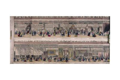 Great Exhibition, Crystal Palace, Hyde Park, London, 1851--Giclee Print