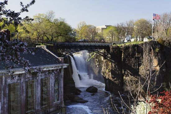 Great Falls of Passaic River, Paterson, NJ-George Oze-Photographic Print