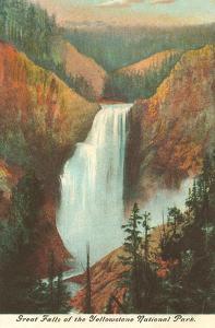 Great Falls, Yellowstone Park, Montana