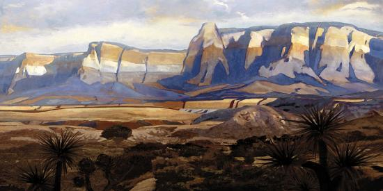 Great Frontier-Mark Chandon-Giclee Print