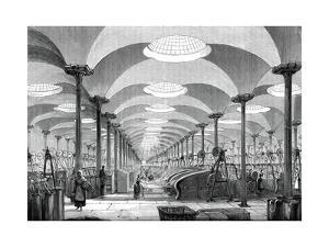 Great Hall in Messrs Marshall's Flax Mill, Leeds, C1880