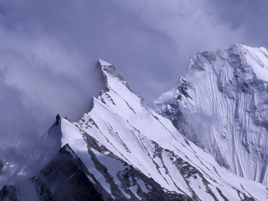 Great Karakoram, Baltoro Kangri Group, Himalayas, Pakistan-Gavriel Jecan-Photographic Print