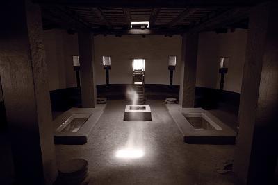 Great Kiva Spirit Aztec Ruins National Monument BW-Steve Gadomski-Photographic Print