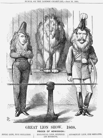Great Lion Show, 1868-John Tenniel-Giclee Print