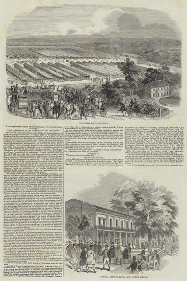 Great Meeting of the Royal Agricultural Society at Southampton--Giclee Print