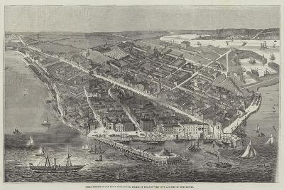 Great Meeting of the Royal Agricultural Society of England, the Town and Port of Southampton--Giclee Print
