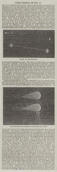 Great Meteor on 27 November--Giclee Print
