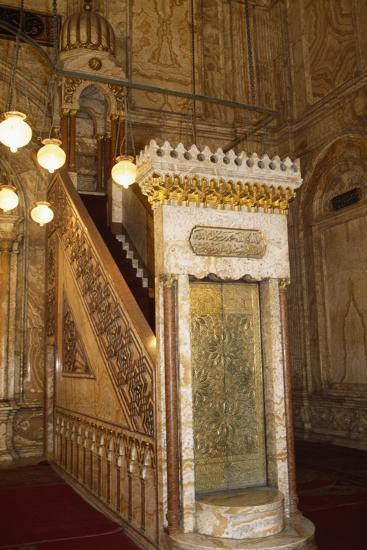 Great Mosque of Muhammad Ali Pasha or Alabaster Mosque, 19th Century, Cairo Citadel, Egypt--Photographic Print