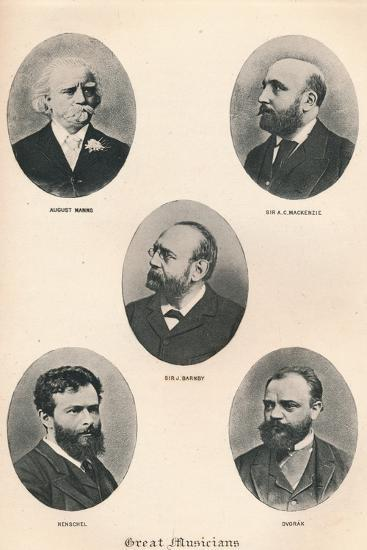 'Great Musicians - Plate VIII.', 1895-Unknown-Photographic Print