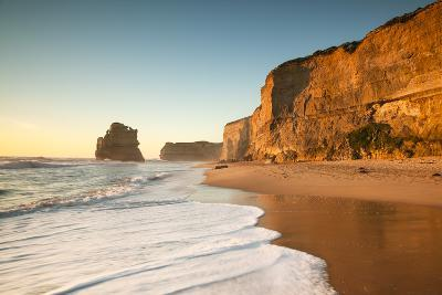 Great Ocean Road, Port Campbell National Park, Victoria, Australia. Gibson Steps Beach at Sunset-Matteo Colombo-Photographic Print