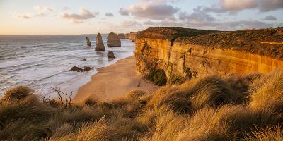 Great Ocean Road, Port Campbell National Park, Victoria, Australia. Twelve Apostles at Sunset-Matteo Colombo-Photographic Print