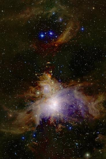 Great Orion Nebula--Photographic Print