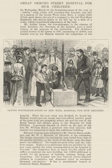 Great Ormond Street Hospital for Sick Children--Giclee Print