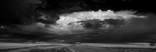 Great Plains Storm BW-Steve Gadomski-Photographic Print