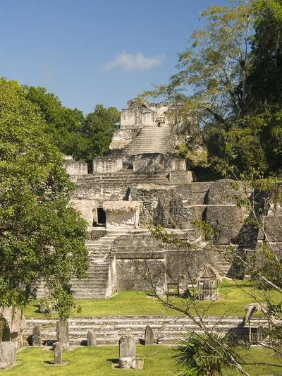 Great Plaza, North Acropolis, Tikal, UNESCO World Heritage Site, Tikal National Park, Guatemala--Photographic Print