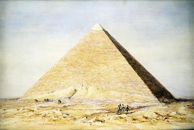Great Pyramid of Cheops at Giza, Egypt, 4th Dynasty, Old Kingdom, 26th Century BC-Francis Vyvyan Jago Arundale-Giclee Print