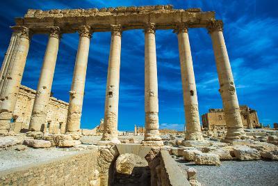 Great Ruins of Palmyra, Syria. UNESCO World Heritage-siempreverde22-Photographic Print