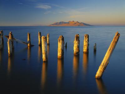 Great Salt Lake, Saltair, Great Basin, Utah, USA-Scott T^ Smith-Photographic Print