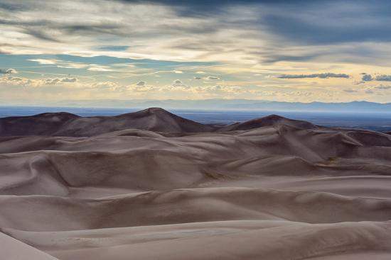 Great Sand Dunes National Park and Sangre Cristo Mountains, Colorado-Howie Garber-Photographic Print