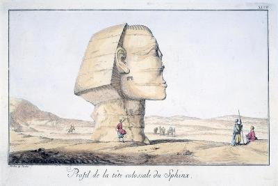 Great Sphinx Head in Profile, 18th Century-Tuscher Hafniae-Giclee Print