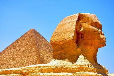 Great Sphinx of Giza-Taylor Buckman-Photographic Print