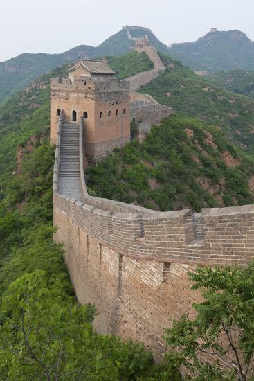Great Wall, China-Uschools University Images-Photographic Print