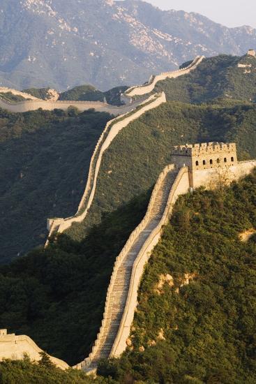 Great Wall of China at Badaling-Christian Kober-Photographic Print