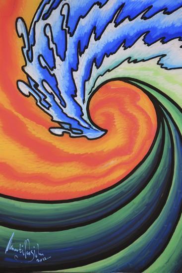 Great Wave-Martin Nasim-Giclee Print