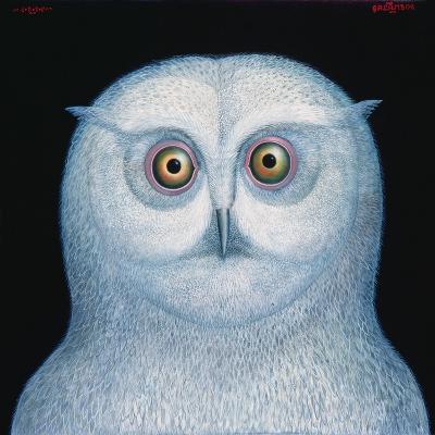 Great White Owl, 1996-Tamas Galambos-Giclee Print