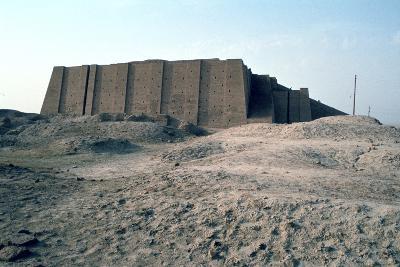 Great Ziggurat of Ur, Iraq, 1977-Vivienne Sharp-Photographic Print