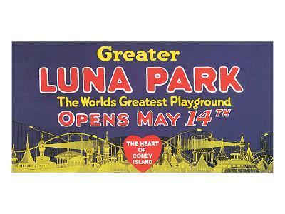 Greater Luna Park Opening--Art Print