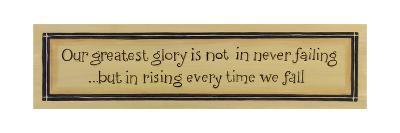 Greatest Glory-Karen Tribett-Art Print