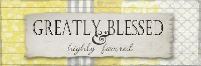 Greatly Blessed 2-Taylor Greene-Art Print