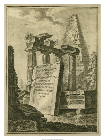 Grecian Tablet II--Giclee Print