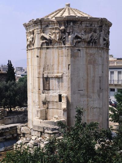 Greece, Athens, Roman Agora, the Winds Tower,2nd -1st Century BC, Ancient Greece--Giclee Print