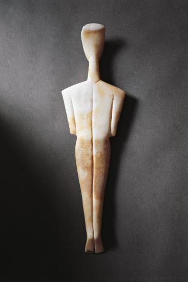Greece, Athens, Sculpture Representing a Feminine Figure Seen from the Rear--Giclee Print