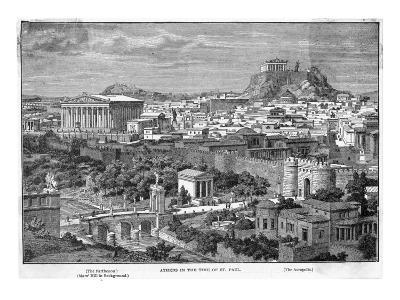 Greece: Athens--Giclee Print