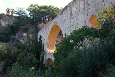Greece, Crete, Aqueduct Near Knossos-Catharina Lux-Photographic Print