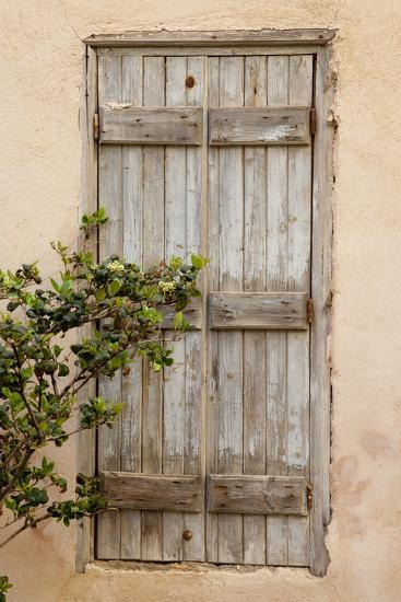 Greece, Crete, Chania, doorway-Hollice Looney-Premium Photographic Print